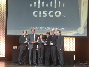 Cisco Channel Champions Awards 2014