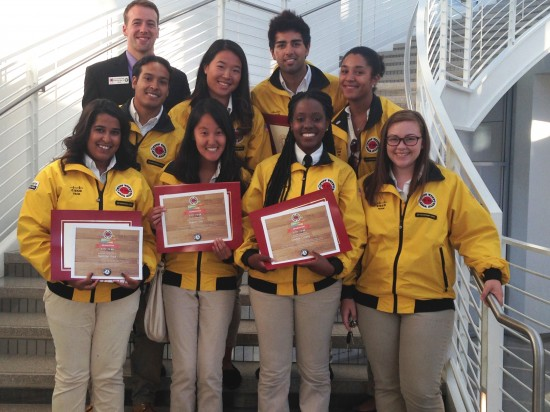 Happy graduation to the City Year team Cisco sponsored at Cesar Chavez Elementary School