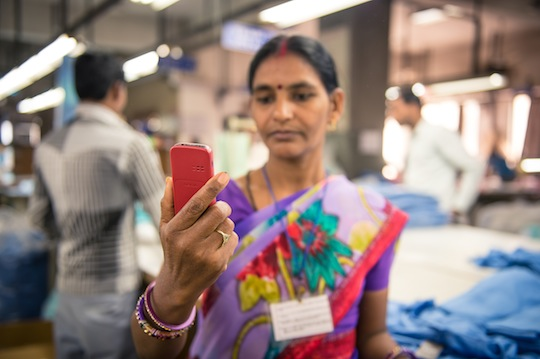 In India, Labor Link is being used to measure the effectiveness of financial literacy training at 11 garment and footwear factories