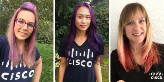 Cisco Hair Color