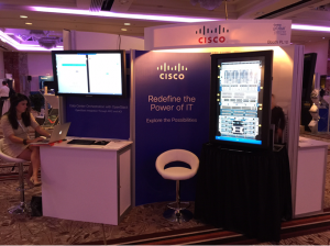 Cisco UCS on show at the Gartner Data Center Conference