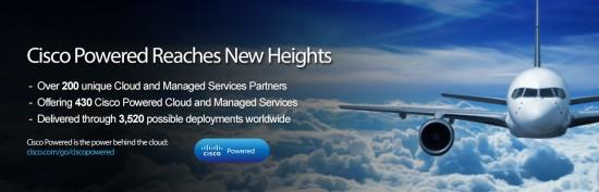 Cisco Powered is the power behind the cloud: cisco.com/go/ciscopowered