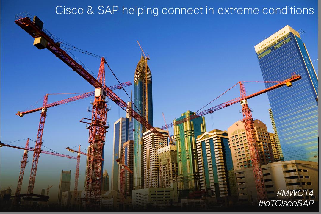 Cisco SAP Helping Connect IoT