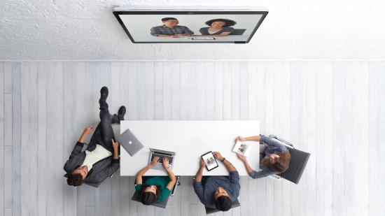 Cisco Spark Board, top view