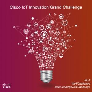 Participate in Cisco's Innovation Grand Challenge  #IoT