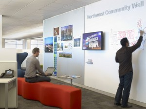 Community Wall at Cisco's Building Eight