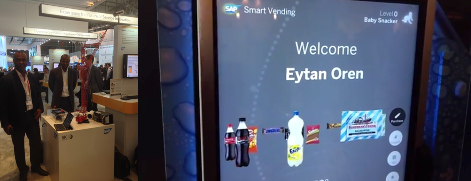 Connected Vending Machine at MWC14