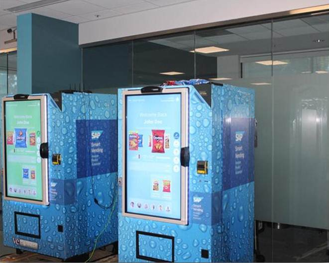 Connected Vending Machine for IoT Cisco SAP
