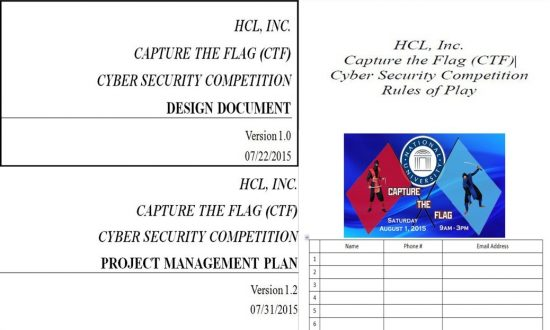 Cyber Security Capture the Flag (CTF) Series 01