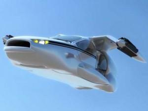 Terrafugia's flying car  Photo Source: Business Insider