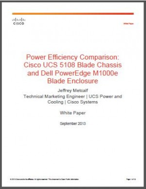 Dell vs UCS Power
