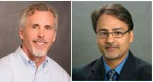 Dr. Gee Rittenhouse and Faiyaz Shahpurwala