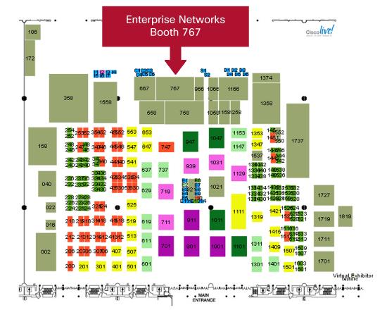 Enterprise Networks Booth
