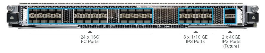 Cisco MDS 9000 24/10-Port SAN Extension Module