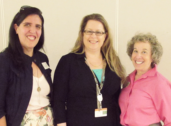 From left: Operation Access' Marisol Ponce de Leon, Cisco's Cindy Cooley, and Operation Access' Ellen Kaufman.