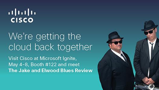 Jake & Elwood, aka The Blues Revue - Cisco booth #122