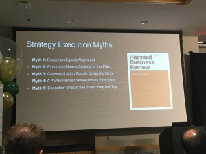 HBR Execution Myths