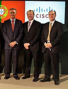 Helder Antunes-John Chambers-Portugese President