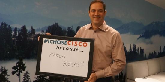Chuck Robbins I Chose Cisco photo