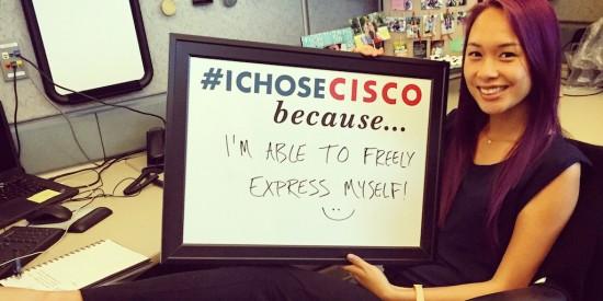 Cisco Intern I Chose Cisco photo