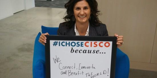 Fran Katsoudas I Chose Cisco  photo