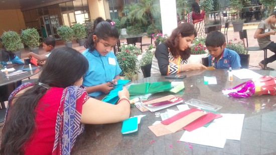 """Cisco volunteers in India were inspired to """"Be the Bridge"""" after working with students from a local government school and learning more about today's global social issues"""