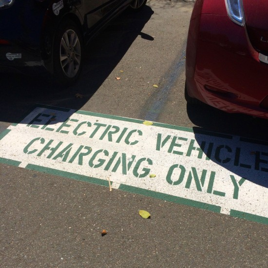 Charging stations are temporary spaces that drivers share throughout the day to charge their vehicles