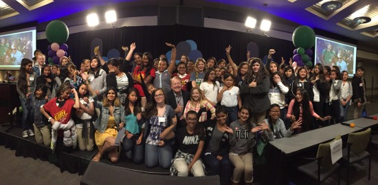 More than 100 girls attended Girls Power Tech on Cisco's San Jose campus , where they found inspiration to pursue careers in IT.