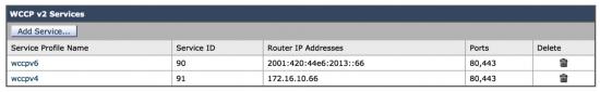 IPv6-WCCP