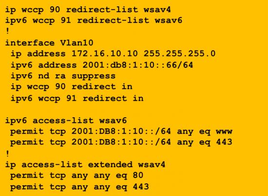 IPv6-WCCP-Config