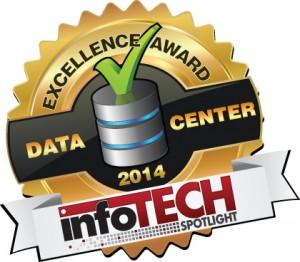 infoTECH Spotlight Data Center Excellence Award Logo