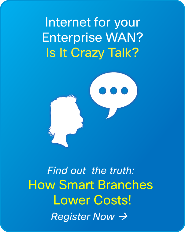 Internet for your Enterprise WAN