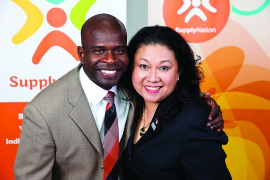 Jasmin and Donald Fairconeture of Unity Promotions formed Outback Global USA – the first joint venture between an African American minority business and an Australian Indigenous business.