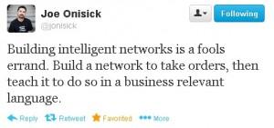 Joe Onisick tweet