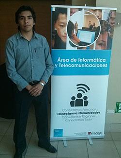 Juan Zambrano, 2013 Cisco Networking Academy NetRiders competition national and international winner