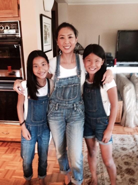 Kim N and daughters 2