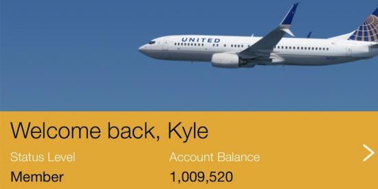 Kyle's United Miles