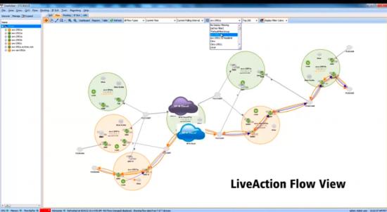 LiveAction Flow View