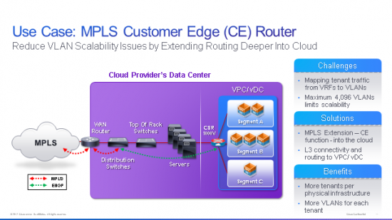 MPLS Customer Edge Router