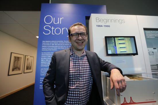 Maciej Kranz, leading innovation at Cisco.
