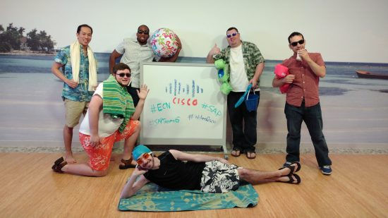 Mike and his team at Cisco