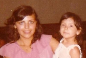 Silvia and her mom
