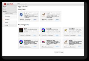 OpenStack Centric Applications - Murano Application Catalog UI