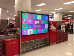 Target SF video sign