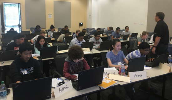 Students in San Jose participated in practical, hands-on activities, inspiring the young men and women to pursue careers in the cybersecurity field.