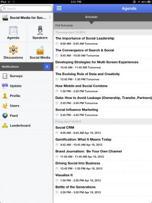SMSM Mobile Screenshot