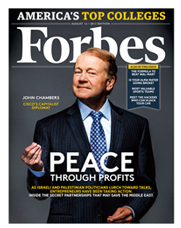 Cisco CEO John Chambers on the cover of Forbes