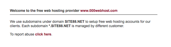 000webhost domain site88.net