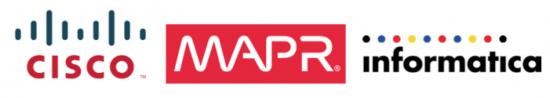 Cisco, MapR, Informatica