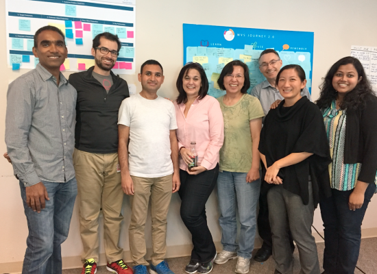 This was one of our teams at the last Startup//Cisco Workshop in San Jose.